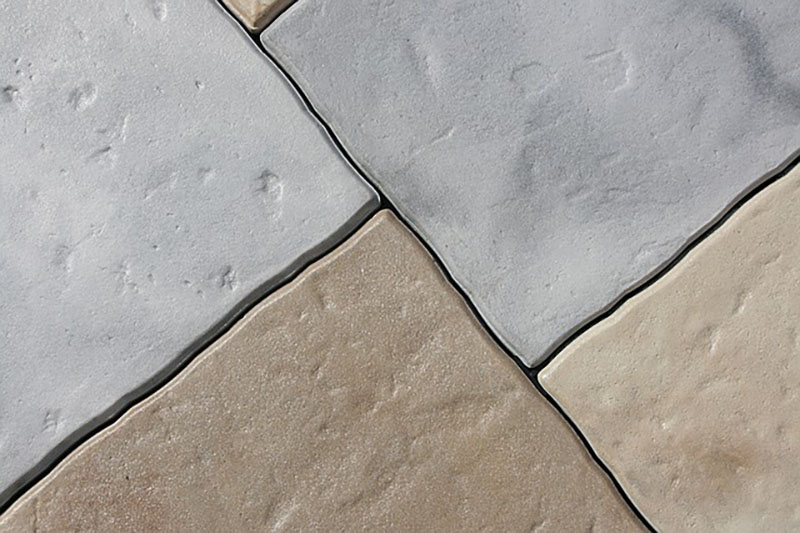 close up image of floor tiles